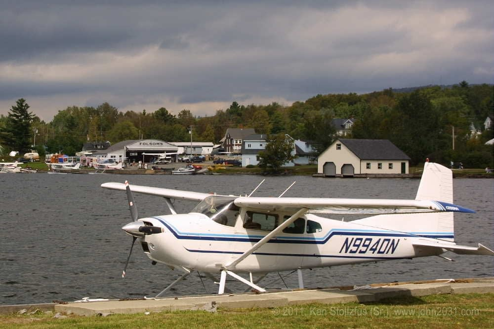 The airplanes Lady Bush Pilot