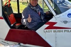 Lady Bush Pilot - African Tour - Flap 7