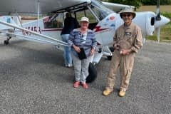 Lady Bush Pilot - French Trip