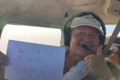 Lady Bush Pilot - Ferry Flight To Djibouti